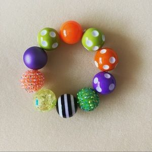 Handmade Halloween Theme Party Bracelet